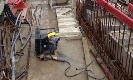 Treuil électrique PRIMO utilisé sur un chantier.